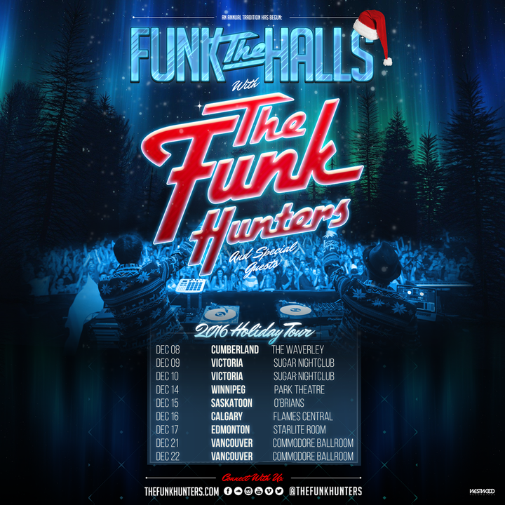 The Funk Hunters @ Flames Central - Calgary, Canada
