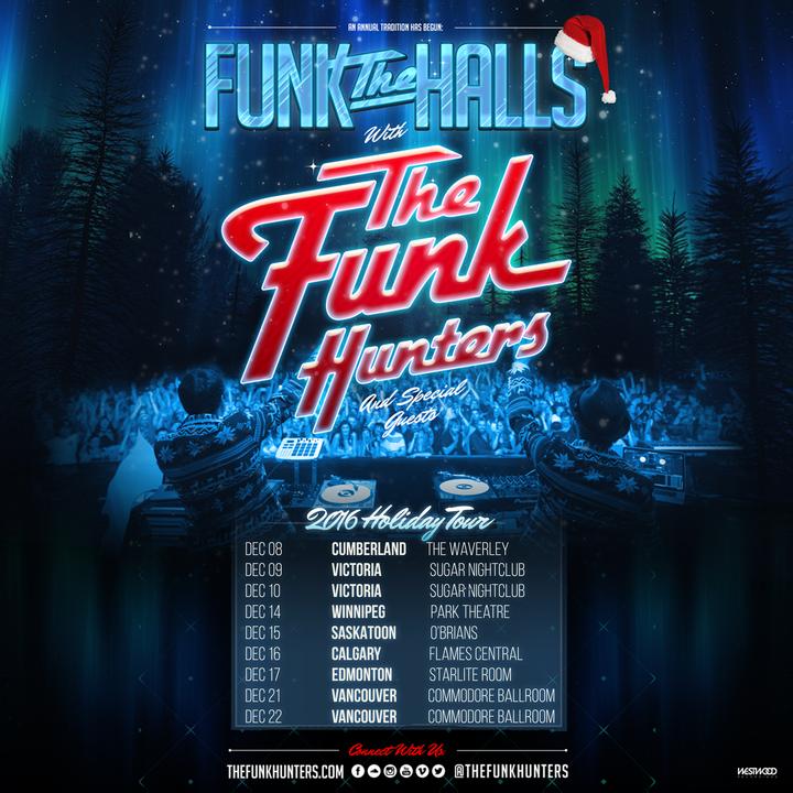 The Funk Hunters @ Sugar Nightclub - Victoria, Canada