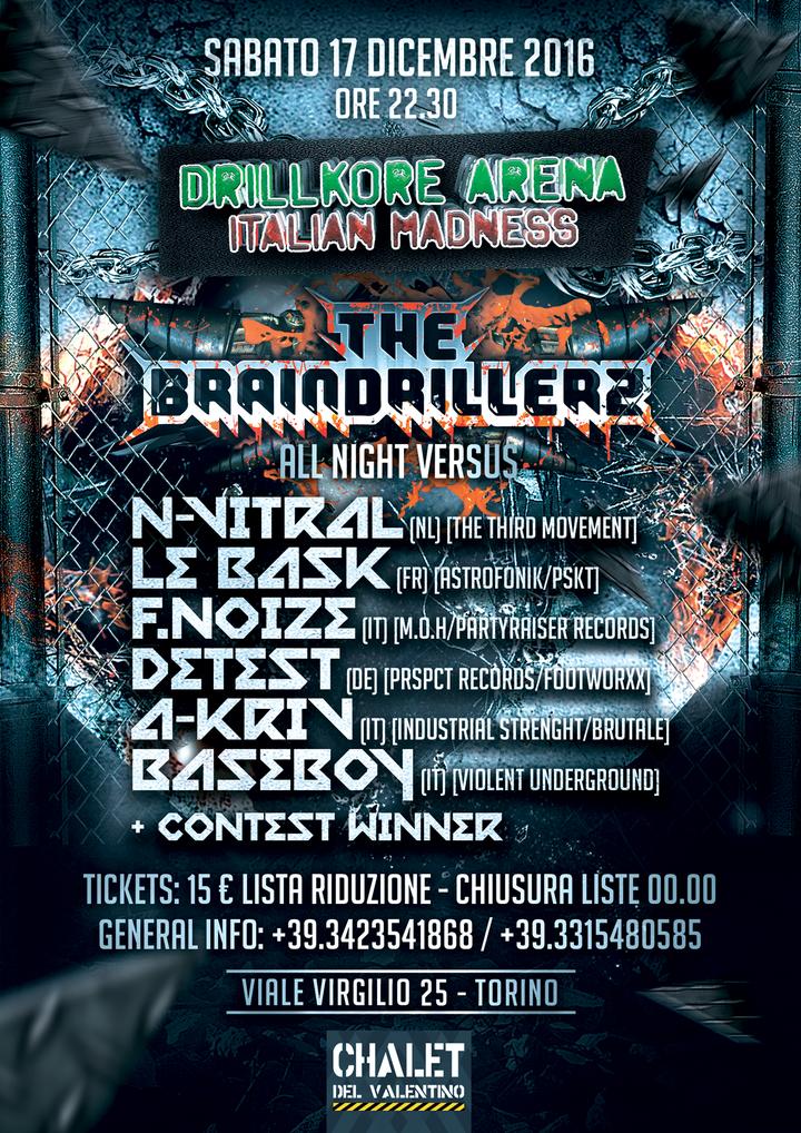 The Braindrillerz @ Chalet club - Torino, Italy