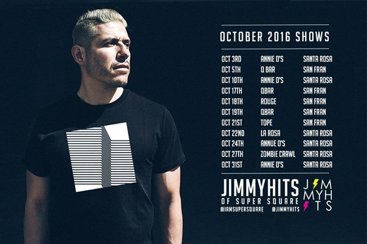 Jimmy Hits Tour Dates
