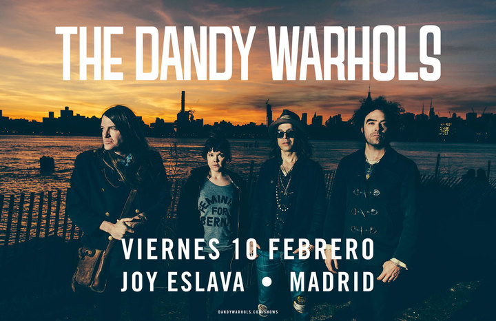 The Dandy Warhols @ Joy Eslava - Madrid, Spain