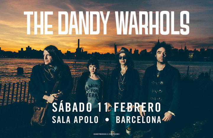 The Dandy Warhols @ Apolo - Barcelona, Spain