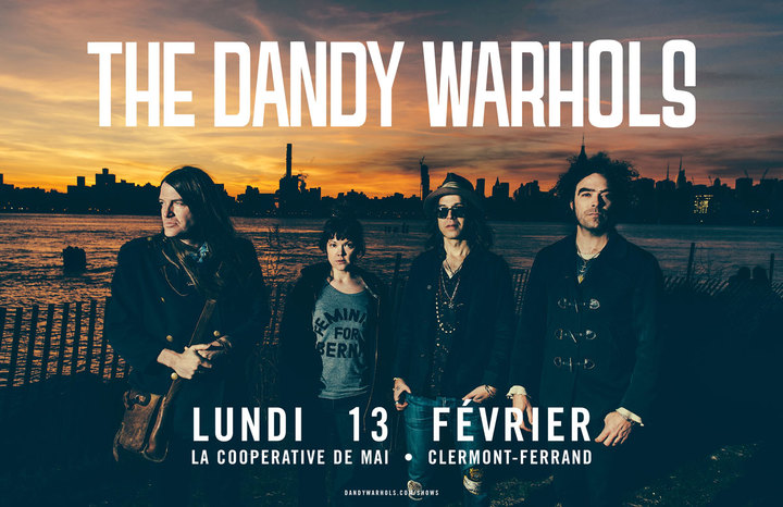 The Dandy Warhols @ La Cooperative de Mai - Clermont-Ferrand, France