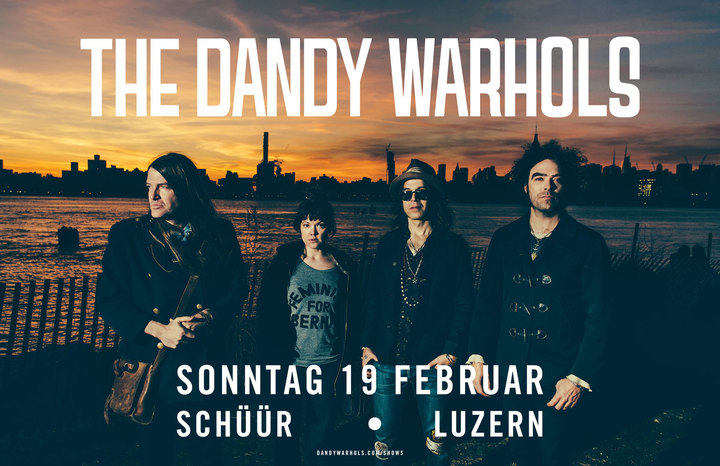 The Dandy Warhols @ Schüür - Lucerne, Switzerland
