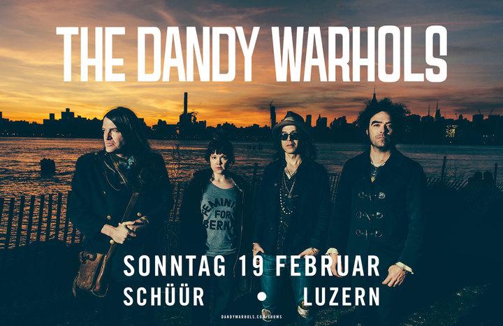 The Dandy Warhols @ Schüür - Lucerne, Switzerland