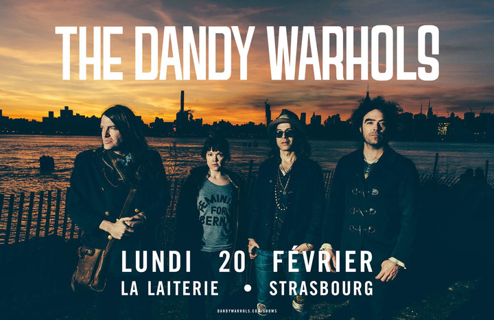 The Dandy Warhols @ La Laiterie - Strasbourg, France
