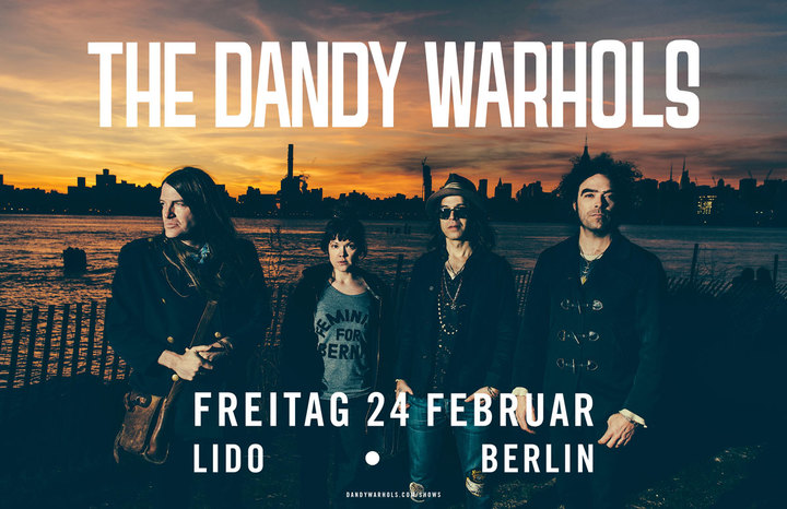 The Dandy Warhols @ Lido - Berlin, Germany