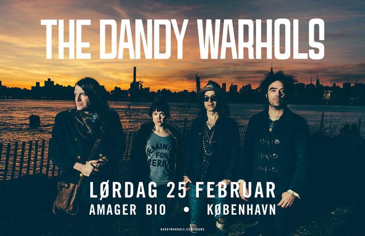 The Dandy Warhols @ Amager Bio - Copenhagen, Denmark