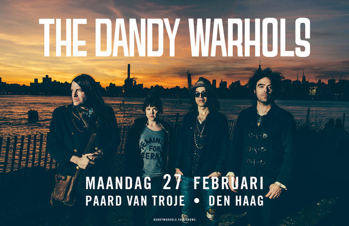 The Dandy Warhols @ Paard van Troje - The Hague, Netherlands