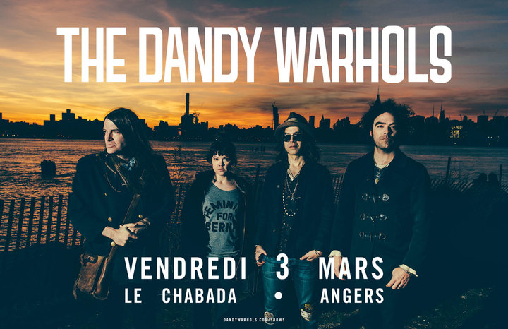The Dandy Warhols @ Chabada - Angers, France