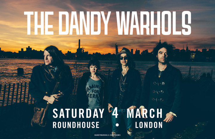 The Dandy Warhols @ Roundhouse - London, United Kingdom