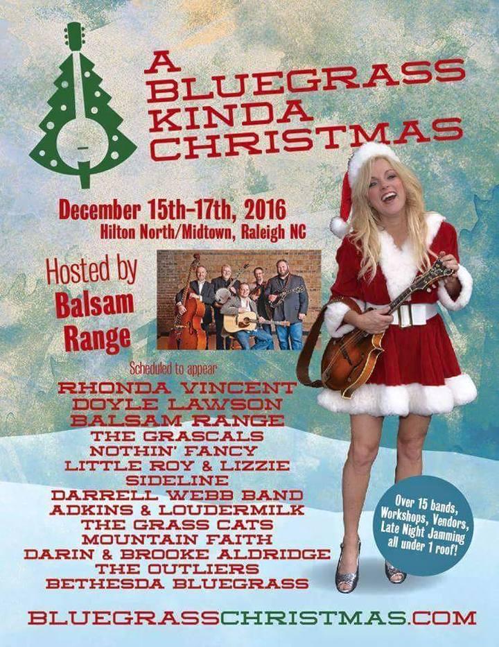 Dave Adkins @ Bluegrass Kinda Christmas @ Hilton Raleigh North - Raleigh, NC