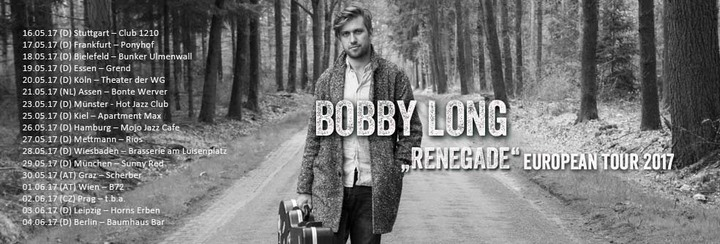 Bobby Long @ Tba - Prague, Czech Republic