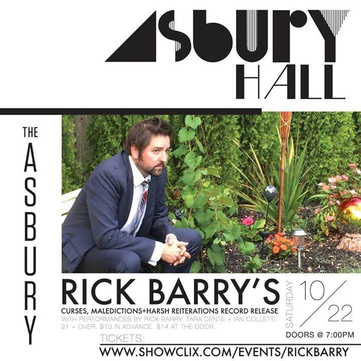 Rick Barry Tour Dates