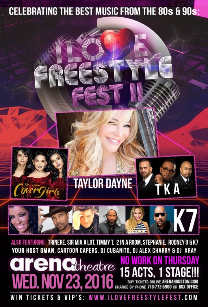 Taylor Dayne @ Arena Theatre - Houston, TX