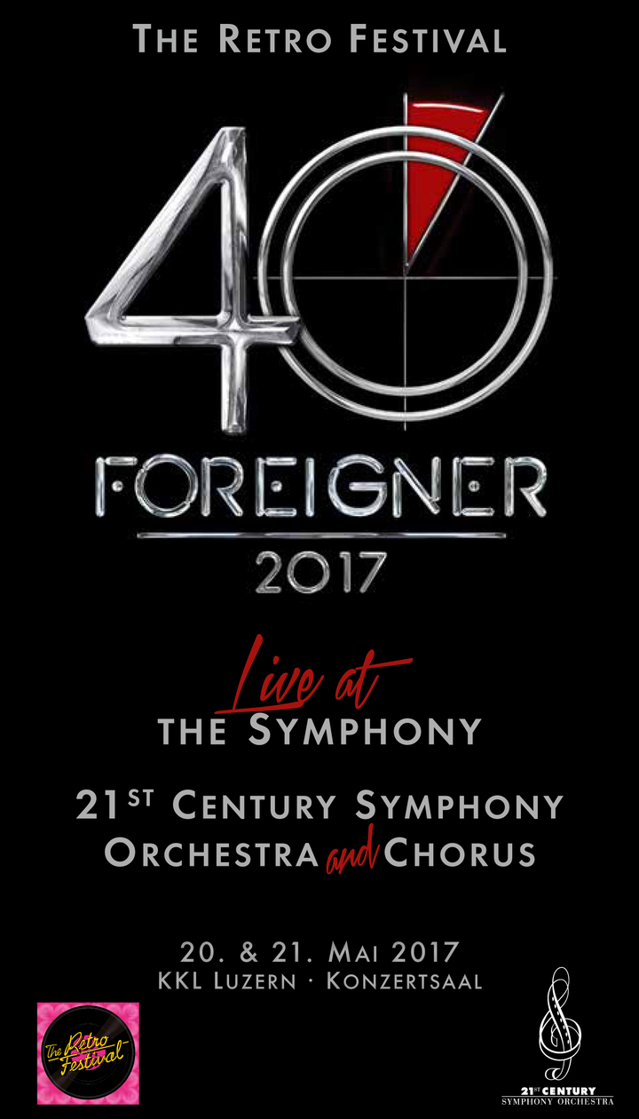 Foreigner @ KKL Luzern - Lucerne, Switzerland