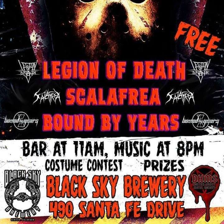 Legion of Death Tour Dates