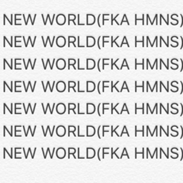 HMNS Tour Dates