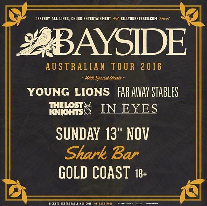 In Eyes Tour Dates