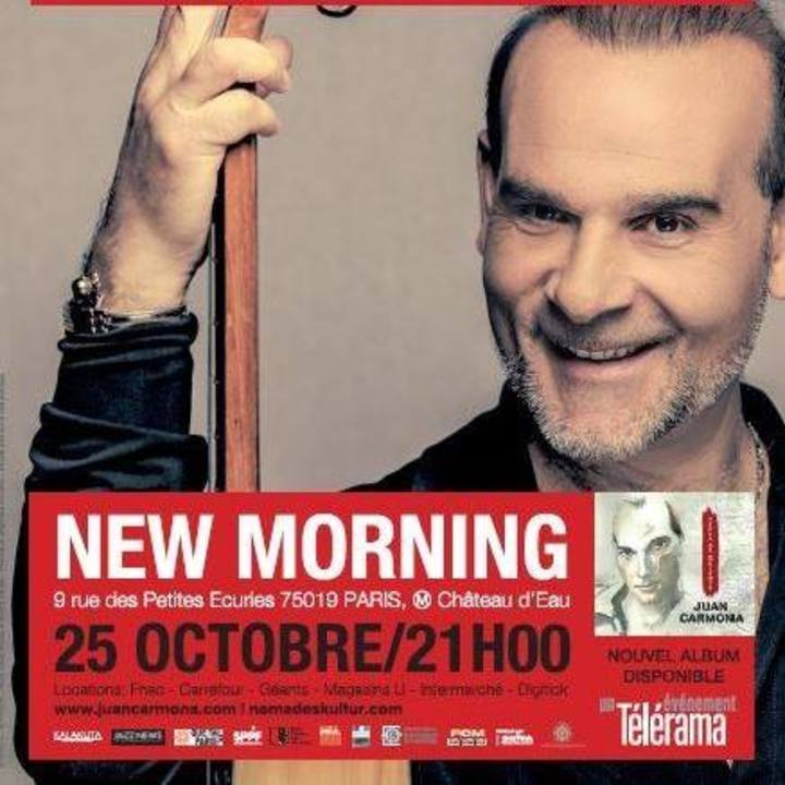 Juan Carmona Tour Dates
