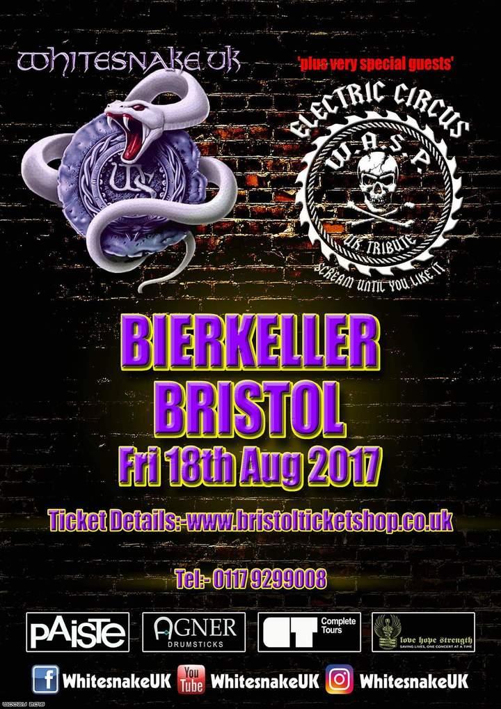 Electric Circus UK @ Bristol Bierkeller  - Bristol, United Kingdom