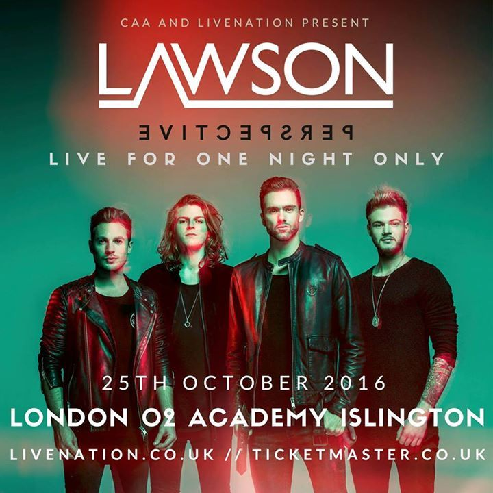 Lawson Tour Dates