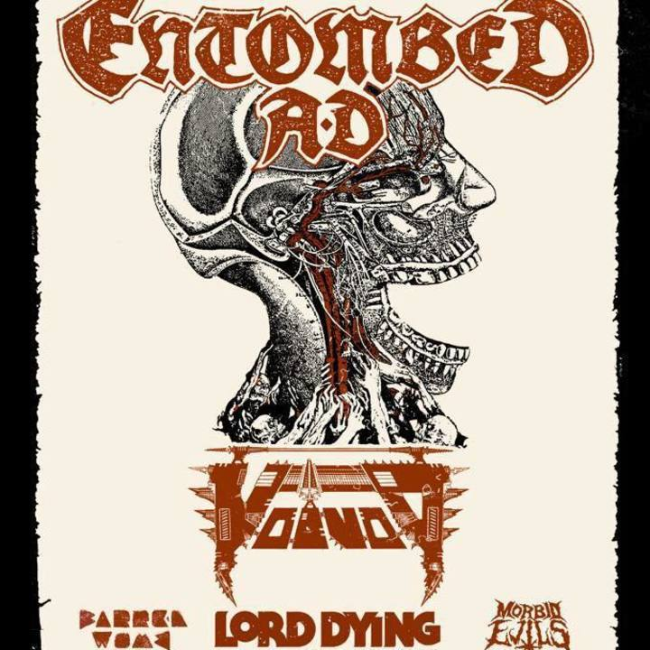 Lord Dying Tour Dates