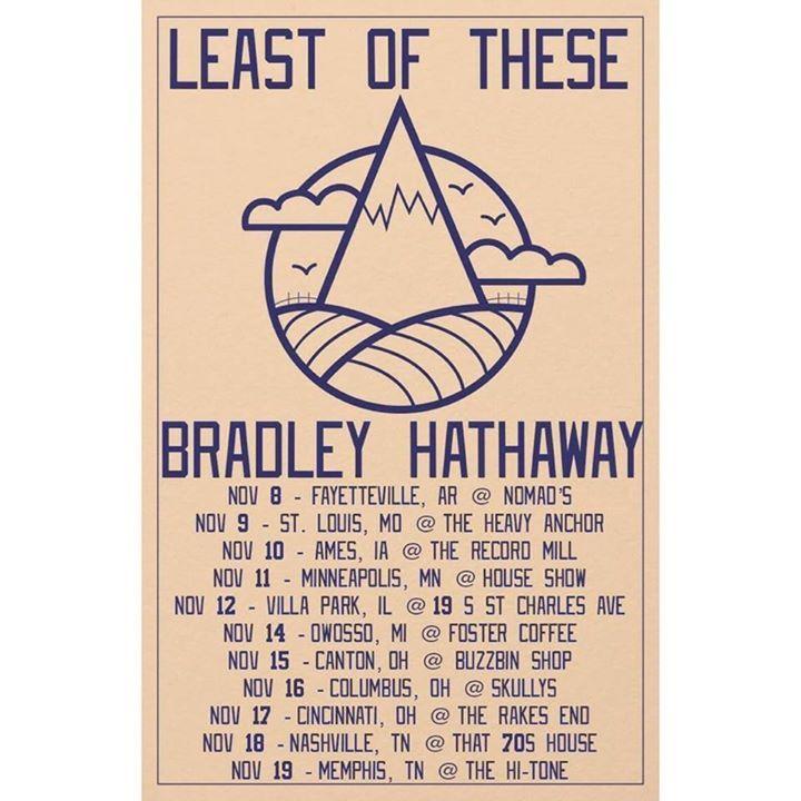 Bradley Hathaway Tour Dates