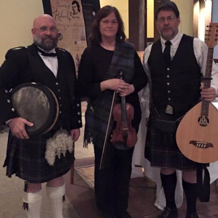 Emerald Accent Irish Music @ Robert Burns Supper - Shreveport, LA