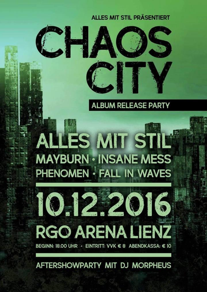 Mayburn @ RGO Arena Linz - Lienz, Austria