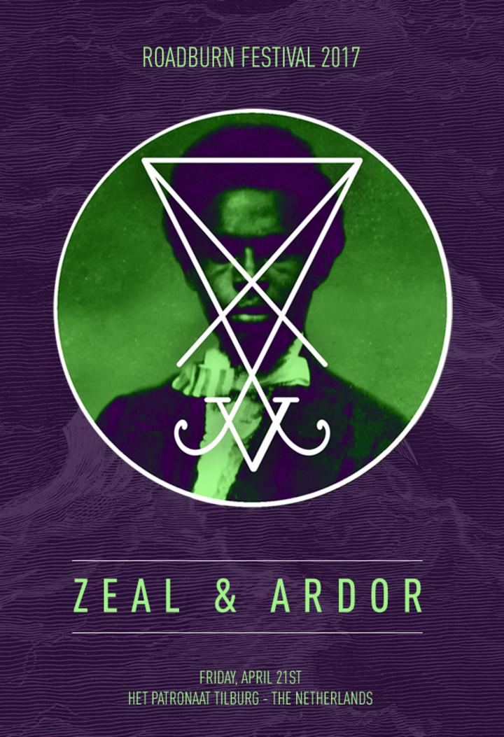 Zeal and Ardor @ Roadburn Festival - Tilburg, Netherlands