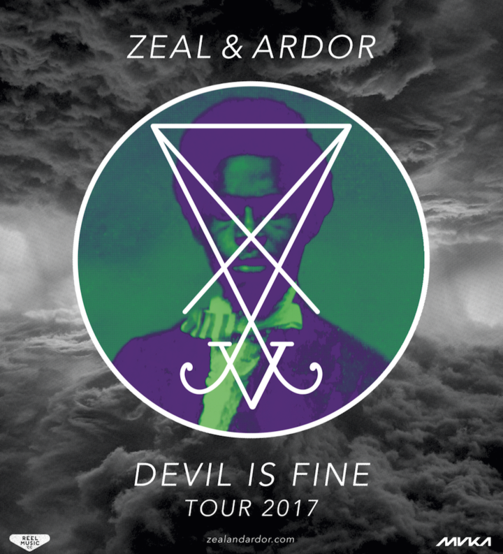 Zeal and Ardor @ Roxy - Prague, Czech Republic
