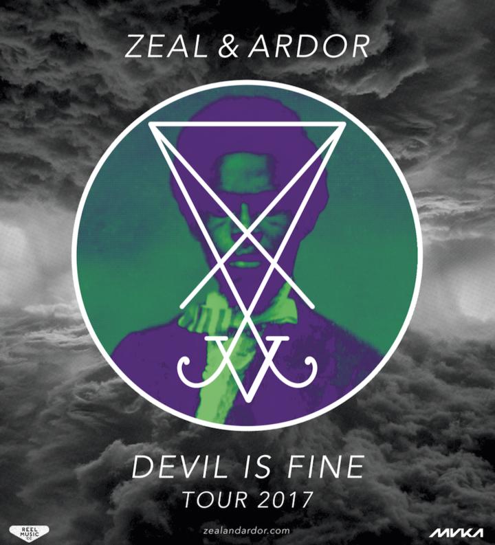 Zeal and Ardor @ Roxy - Prague, Czech Republic