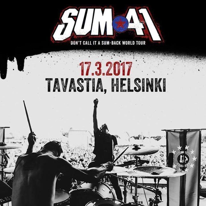 Sum 41 Finland Tour Dates