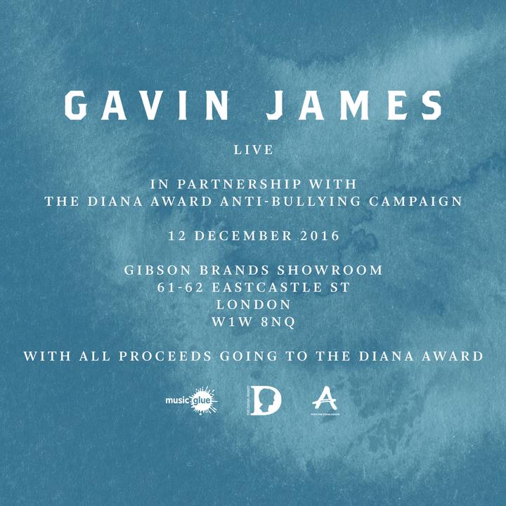 Gavin James @ Gibson Brands Showroom - London, United Kingdom