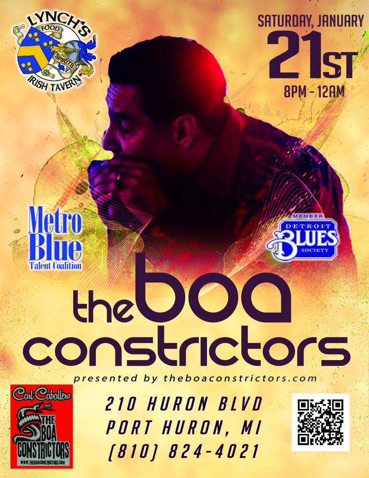 The Boa Constrictors @ Lynch's Irish Tavern - Port Huron, MI