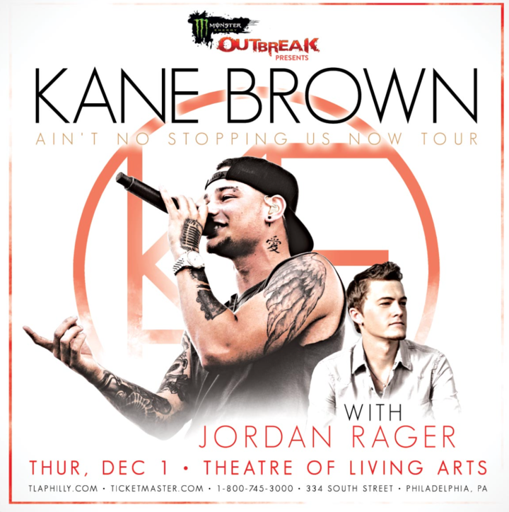"Kane Brown @ Theatre of Living Arts ""Ain't No Stopping Us Now"" Tour - Philadelphia, PA"