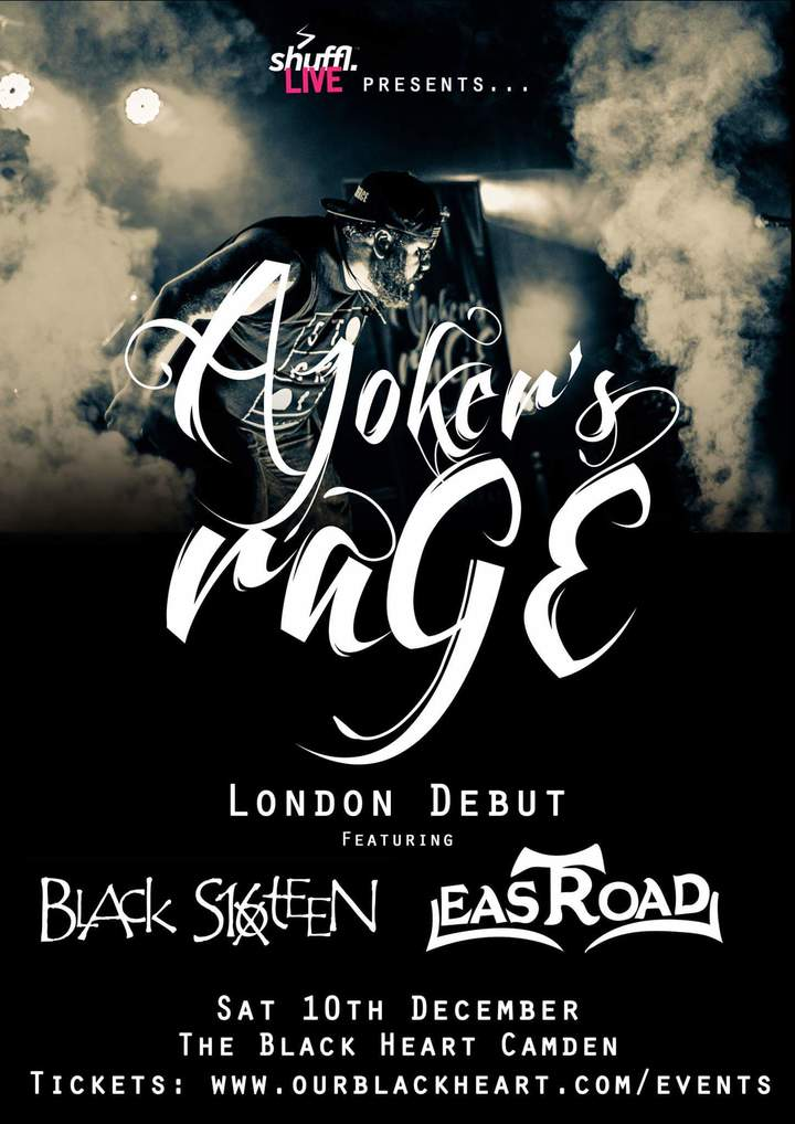 Black Sixteen @ The Black Heart  - London, United Kingdom