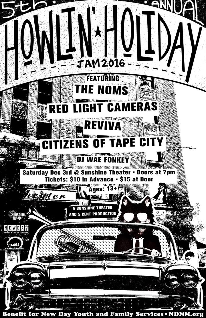 Red Light Cameras @ Sunshine Theater - Albuquerque, NM