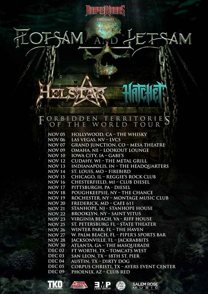 Flotsam and Jetsam Official @ Grizzly Hall - Austin, TX