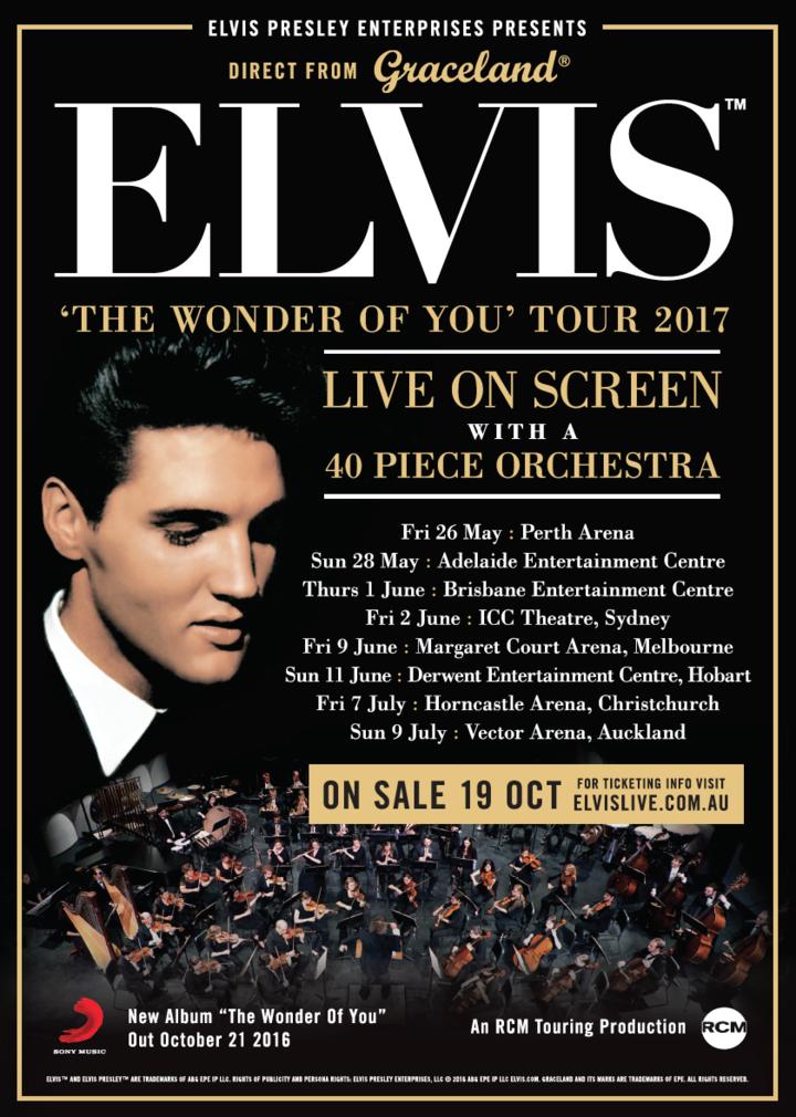 ELVIS Live In Australia / New Zealand 2017 @ Perth Arena - Perth, Australia