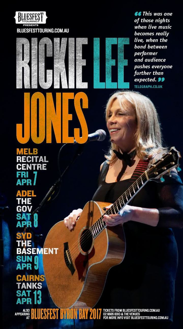 Rickie Lee Jones @ Melbourne Recital Centre - Melbourne, Australia