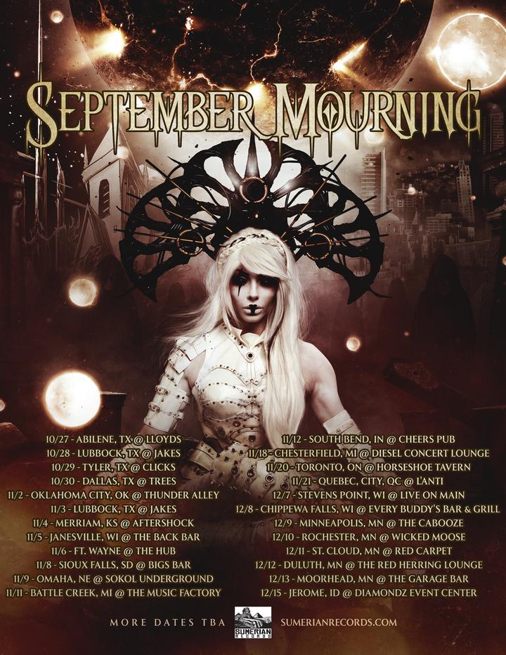 September Mourning @ Garage Bar - Moorhead, MN