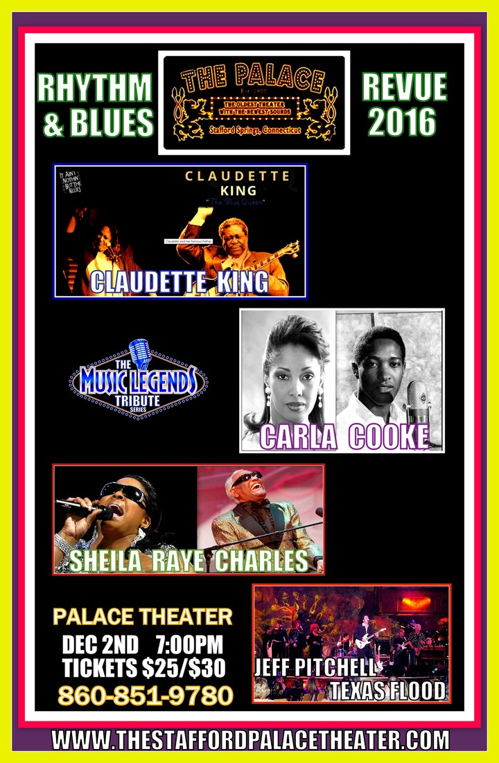 Carla Cooke @ Stafford Palace Theater - Stafford, CT