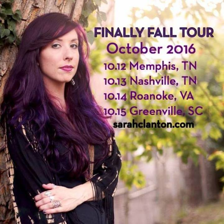 Sarah Clanton Schaffer Tour Dates