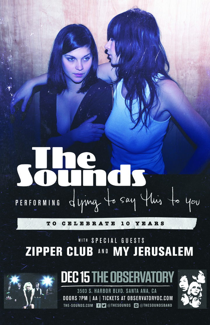 Zipper Club @ The Observatory - Santa Ana, CA