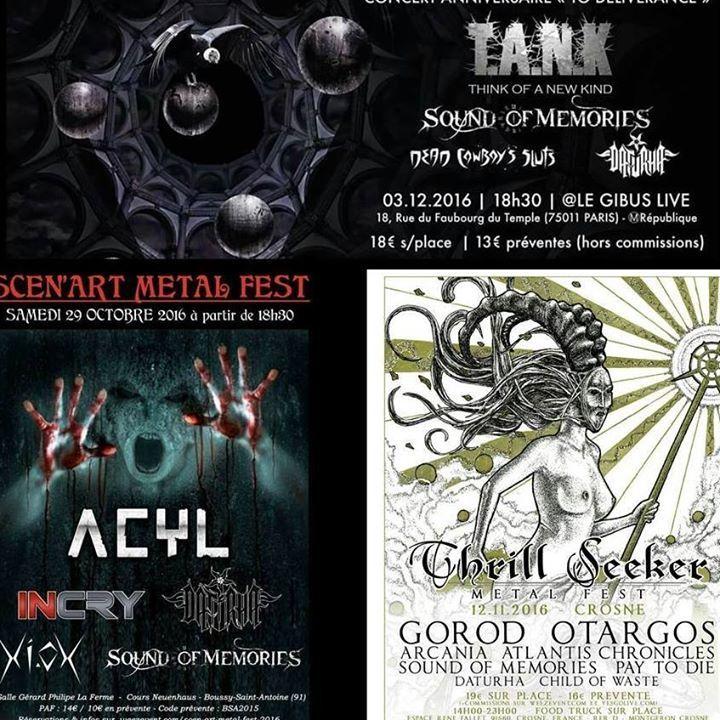 DATURHA Tour Dates