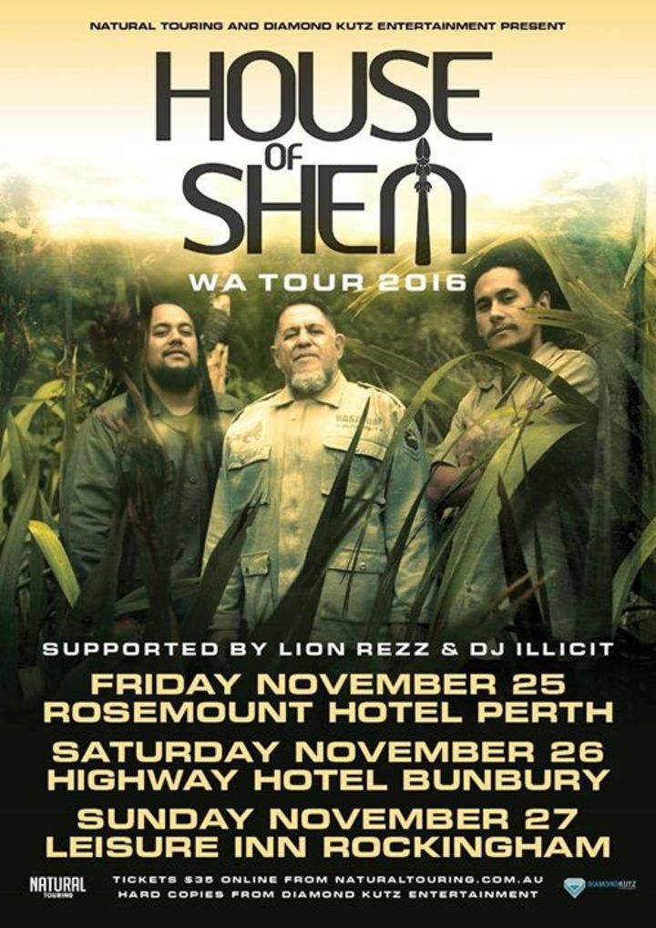 House of Shem Tour Dates