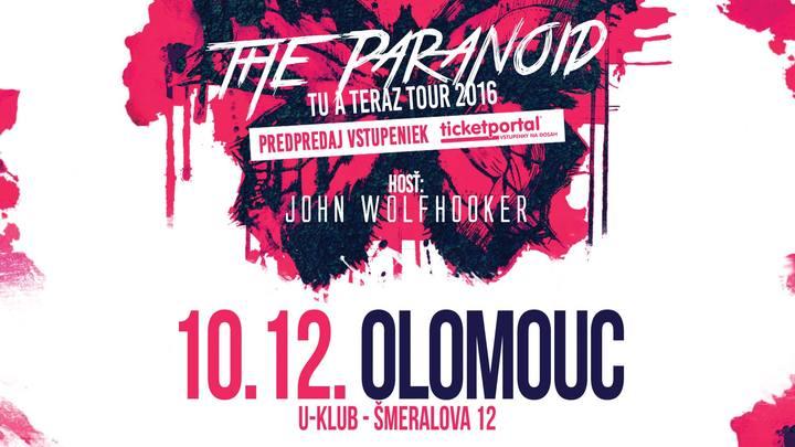 John Wolfhooker @ U-Klub - Olomouc, Czech Republic