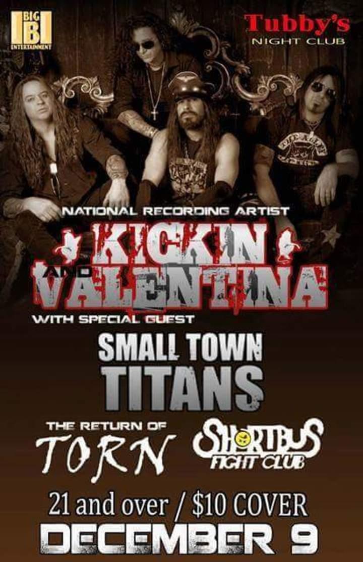 Kickin Valentina @ Tubby's Night Club - Duncannon, PA